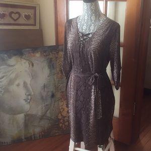 MK Animal Print Dress